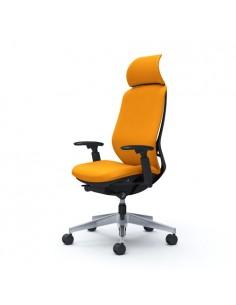 Кресло OKAMURA SYLPHY EXTRA HIGH FABRIC BLACK для руководителя