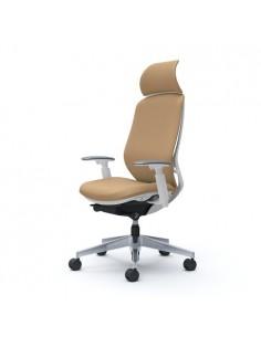 Кресло OKAMURA SYLPHY EXTRA HIGH FABRIC WHITE для руководителя