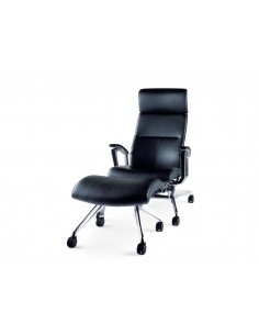 Кресло Okamura Luxos для VIP зон кожаное