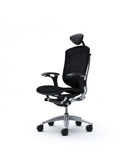 Кресло OKAMURA CONTESSA c узким регулируемым подголовником
