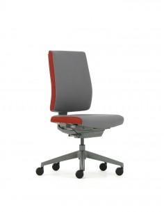 Кресло FREEFLEX GRAPHITE (FLX 740) для оператора, без подлокотников
