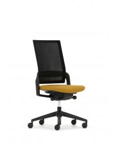 Кресло ECOFLEX BLACK (ECF 740) для оператора, без подлокотников