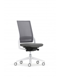 Кресло ECOFLEX WHITE (ECF 740) для оператора, без подлокотников