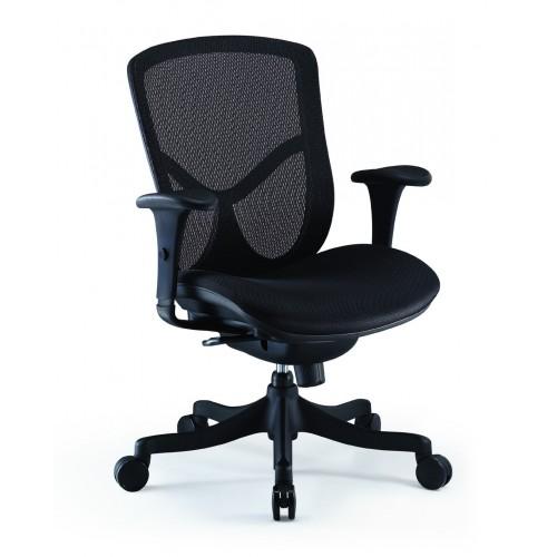 Кресло COMFORT SEATING BRANT SIMPLE (BRSS-LBM-F) с тканевым сиденьем, для оператора
