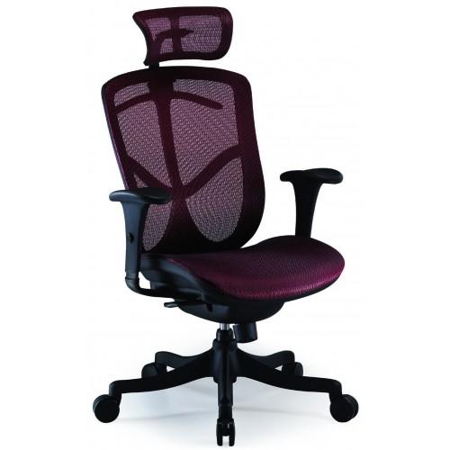 Кресло COMFORT SEATING BRANT SIMPLE (BRSS-HAM) для оператора, с подголовником