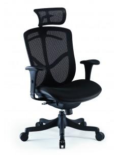 Кресло COMFORT SEATING BRANT SIMPLE (BRSS-HBM-F) с тканевым сиденьем, с подголовником, для оператора