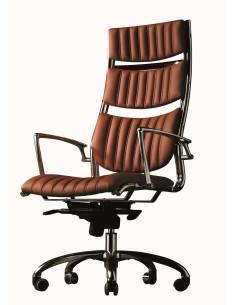 Кресло HAVANA (мод. HAVAI) для руководителя, кожаное