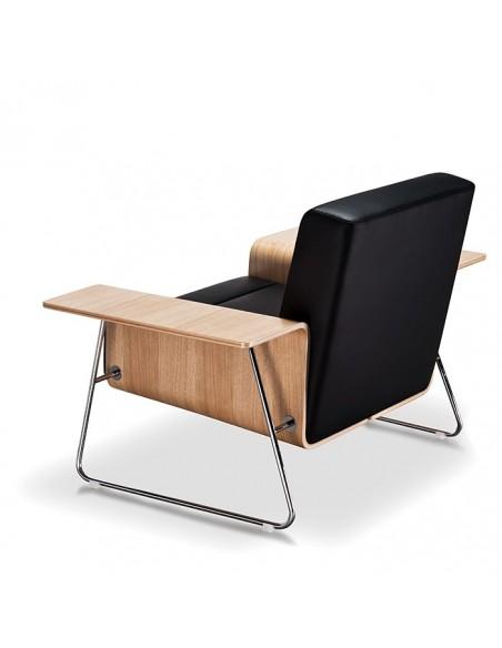 Кресло VANK DRONN для посетителя, кожаное