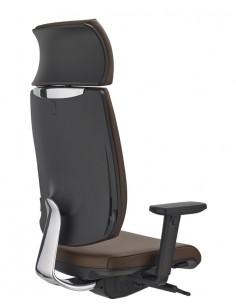 Кресло SITLAND FRESH, для руководителя, кожаное