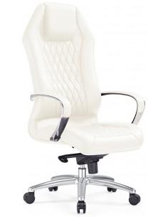 Кресло F103 WE для руководителя, белое