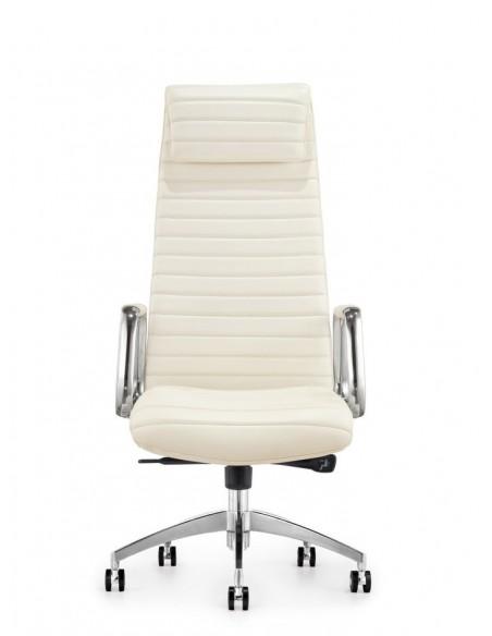 Кресло F9186 WE для руководителя, белое