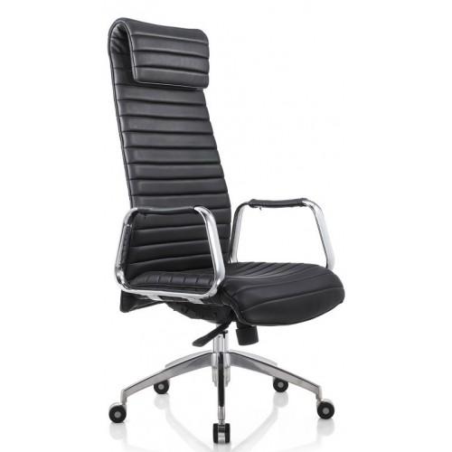 Кресло F9186 BE для руководителя, черное
