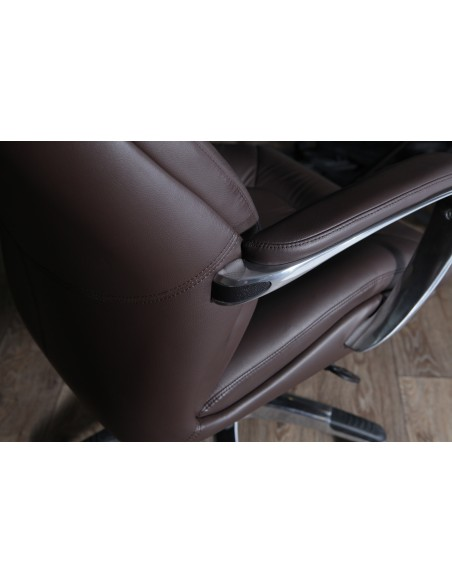 Кресло F181 BRE для руководителя, коричневое