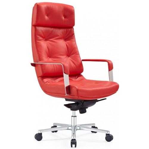 Кресло F133 RL для руководителя, кожаное