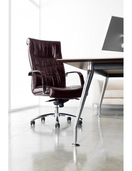 Кресло QUINTI SEDUTE APOLLO для руководителя, кожаное