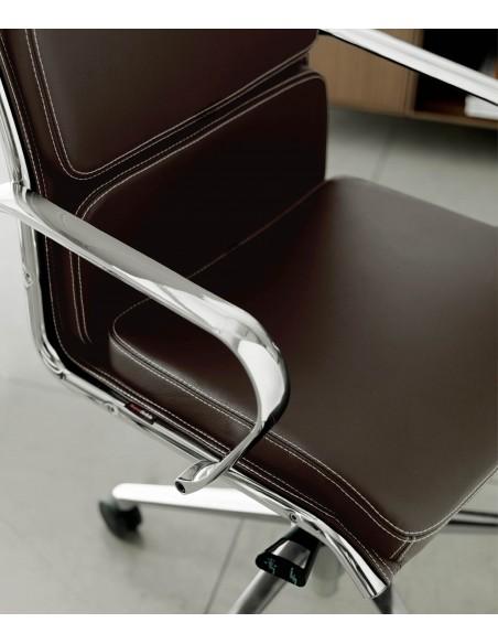 Кресло QUINTI SEDUTE SEASON COMFORT для руководителя, кожаное