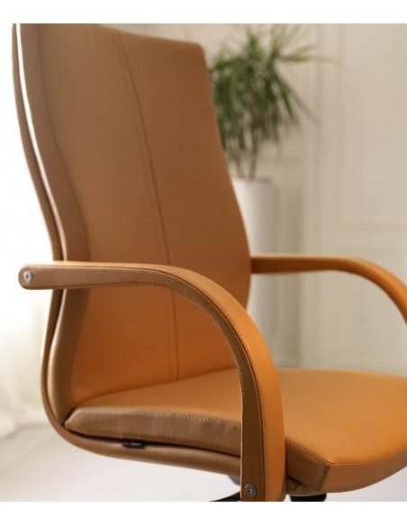 Кресло QUINTI SEDUTE AURORA для руководителя, кожаное