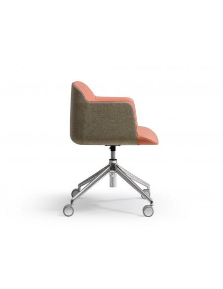 Кресло QUINTI SEDUTE DEEP для посетителей, тканевое