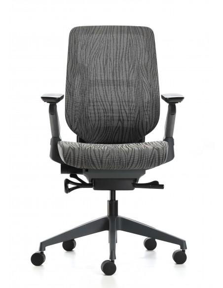 Кресло EAGLE SEATING KARME (арт. 1501C-2F24-Y) эргономичное, без подголовника