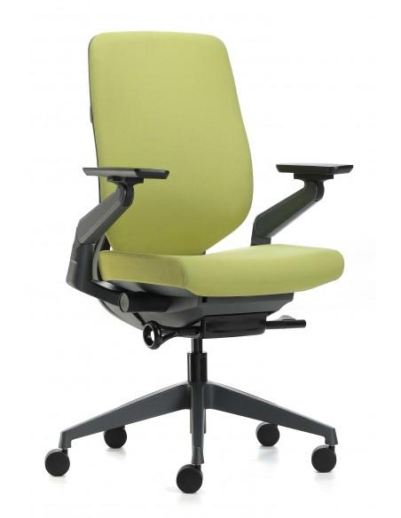 Кресло EAGLE SEATING KARME (арт. 1501C-2HF24-Y) эргономичное, тканевое, без подголовника