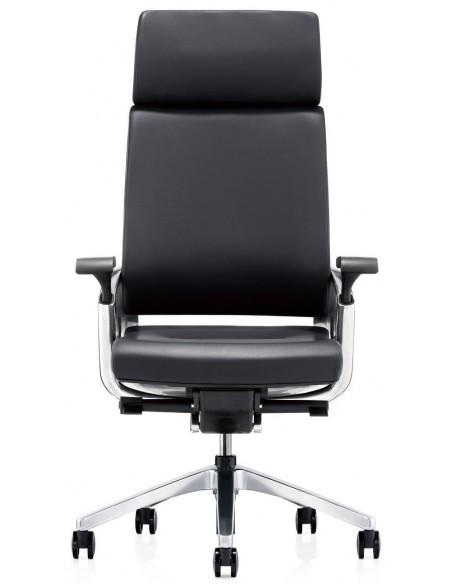 Кресло KA-01L для руководителя, кожаное