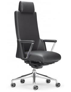 Кресло ROVO XZ 7030A для руководителя, кожаное