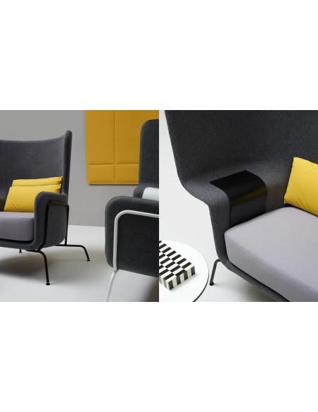 Звукопоглощающее кресло QUINTI SEDUTE HIP LOUNGE