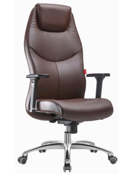 Кресло F195 BRE для руководителя, коричневое