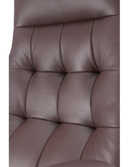 Кресло F1617 BRL для руководителя, кожаное