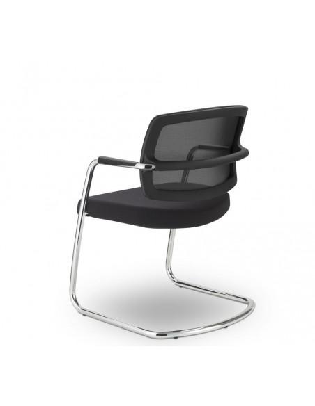 Кресло SITLAND PK VISITOR для посетителей, на полозьях