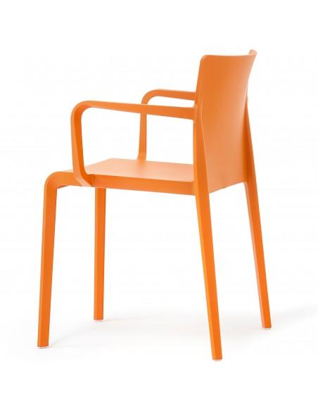 Стул PEDRALI VOLT 675 оранжевый