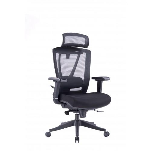 Кресло ERGO CHAIR 2 BLACK эргономичное