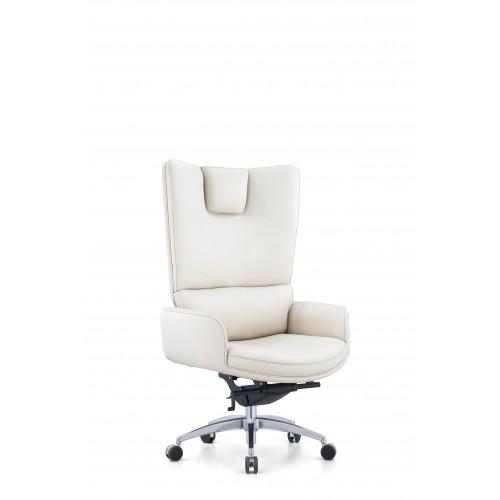 Кресло MY-6014-HL для руководителя, кожаное