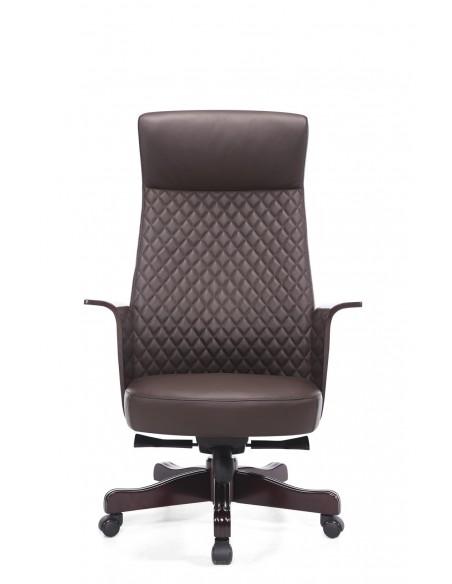 Кресло MY-6084-HL для руководителя, кожаное
