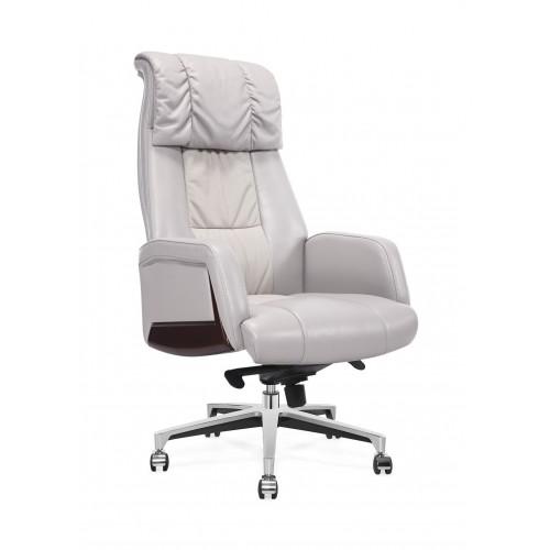 Кресло MY-6086-HL для руководителя, кожаное