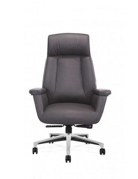 Кресло MY-6087-HL для руководителя, кожаное