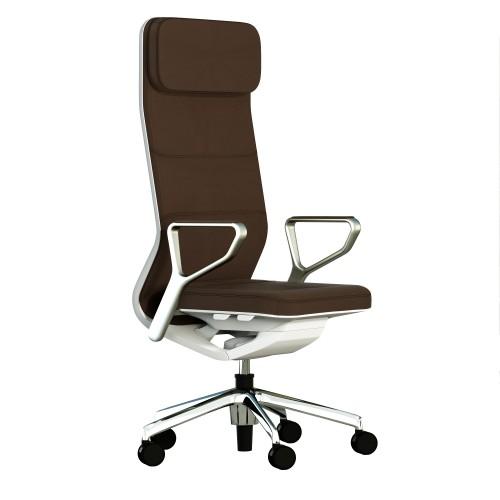 Кресло TCC TEAM ALTA для руководителя, кожаное