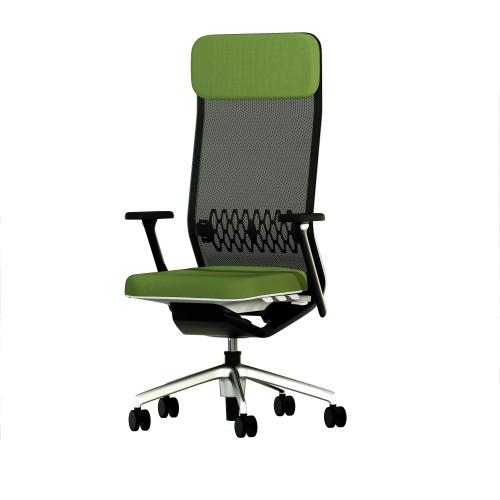 Кресло TCC TEAM ALTA MESH для руководителя, тканевое