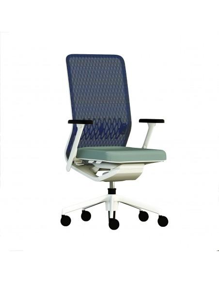 Кресло TCC TEAM MEDIA для руководителя, тканевое
