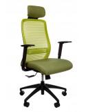 Кресло KRESLALUX ERA GREEN эргономичное, для руководителя