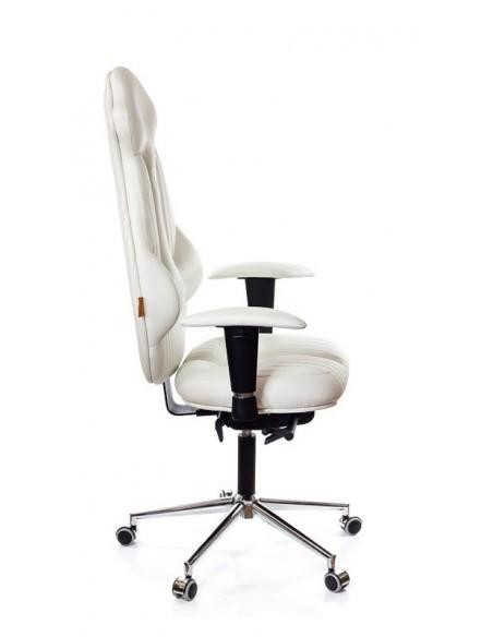 Кресло для руководителя, ортопедическое Kulik System Imperial белое