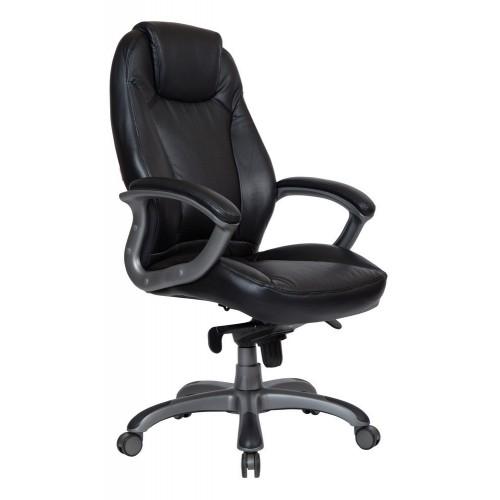 Кресло для руководителя PART-COM Калифорния, черное, усиленное (до 250 кг)