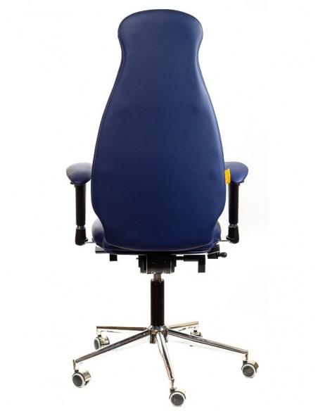 Кресло для оператора, ортопедическое Kulik System Galaxy синее