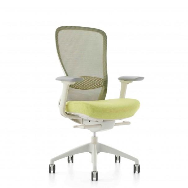 Кресло KRESLALUX IN-POINT WHITE, эргономичное