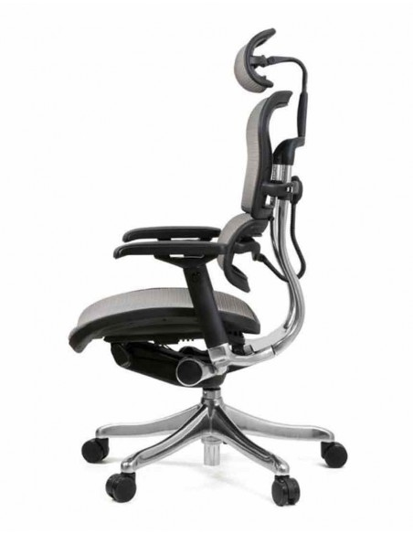 Кресло компьютерное ERGOHUMAN PLUS, эргономичное, серого цвета