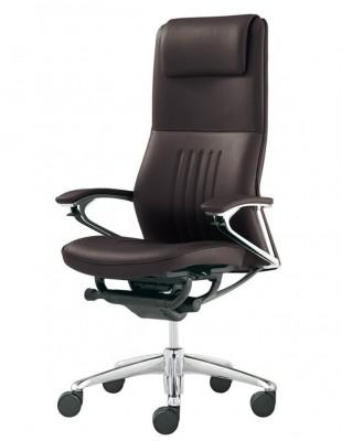 Кресло OKAMURA LEGENDER для руководителя, люкс класса, кожаное